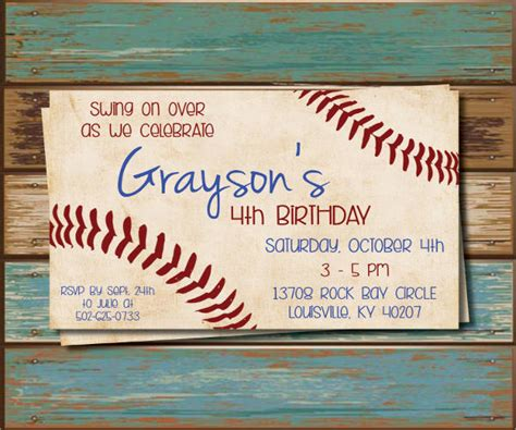 diy baseball cards template 9 baseball invitation design template sle