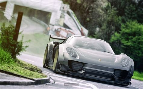 widebody porsche 918 messing with perfection artist renders widebody porsche