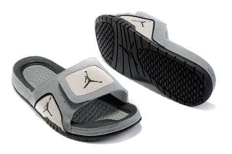 cheap slide sandals buy cheap air 5 hydro slide sandals grey black