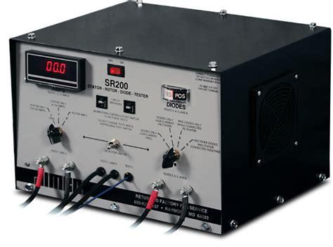 alternator diode stator rotor tester sr200 combination stator rotor diode tester