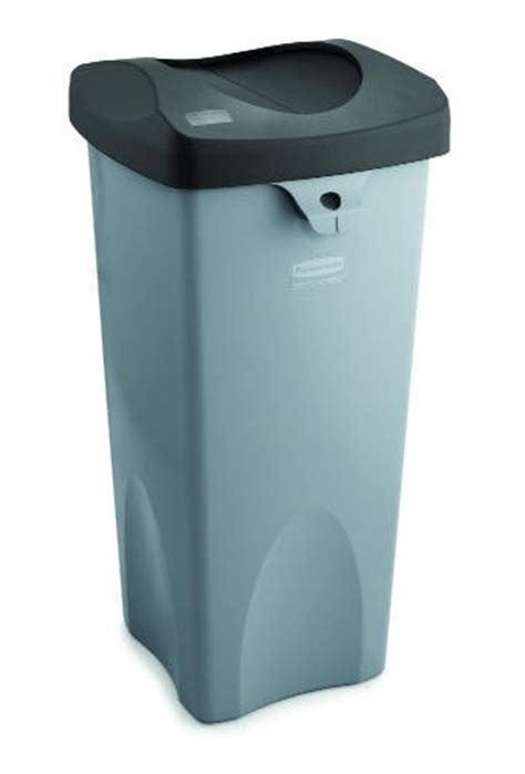 Touch Ls At Walmart by Touch Free Square Receptacle 23 Gallon Gray Lionsdeal