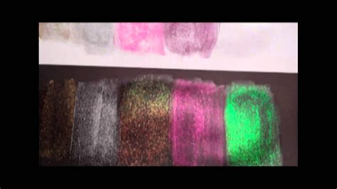 Glitter Paint Demo