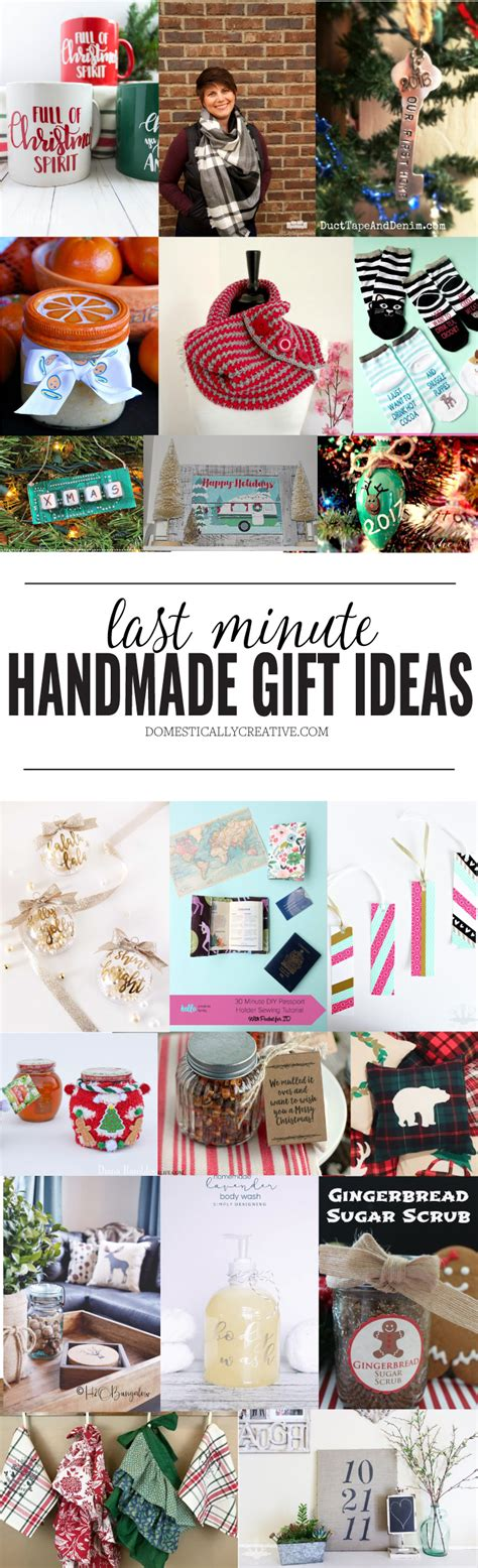 20 last minute handmade gift ideas domestically creative