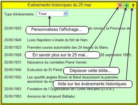 Calendrier Historique Calendrier Agenda Gratuit Ev 233 Nements Historiques Et