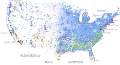 us demographics by race and ethnicity map incredibly detailed map shows race segregation across