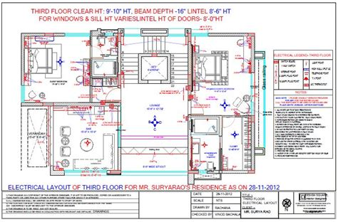 electrical layout guidelines 89 electrical layout plan for residence floor plan