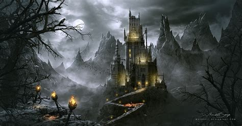 dracula s digitalart io dracula s castle whendell has created an