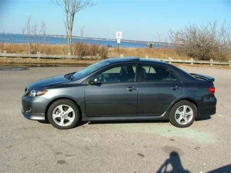 2012 Toyota Corolla Manual Purchase Used 2012 Toyota Corolla S Manual In Warwick