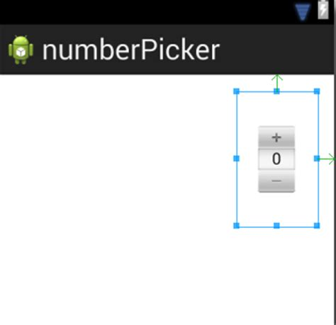 android numberpicker semycolon android numberpicker scaling does not work