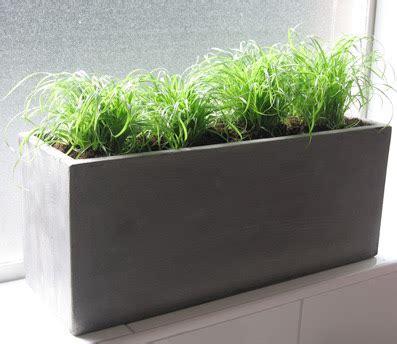 Concrete Enthusiast Concrete Planters
