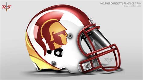 design helmet concepts usc football helmet design concepts page 12