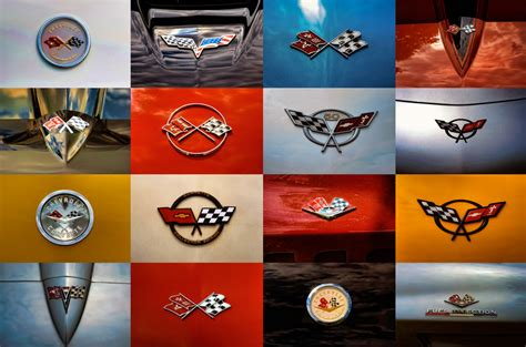 corvette emblem poster edit by thecrow65 on deviantart