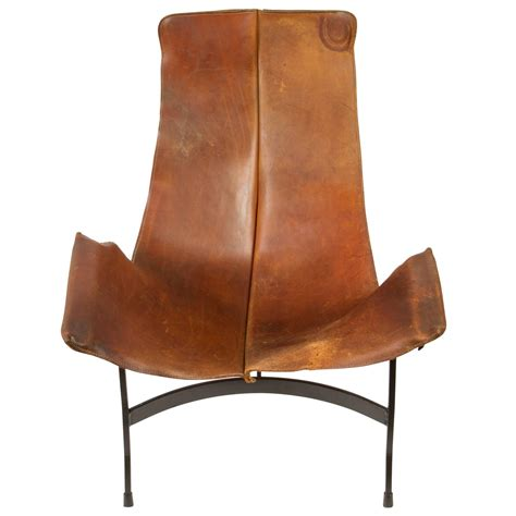 Leather Sling Chairs by Leather Sling Chair By William Katavolos For