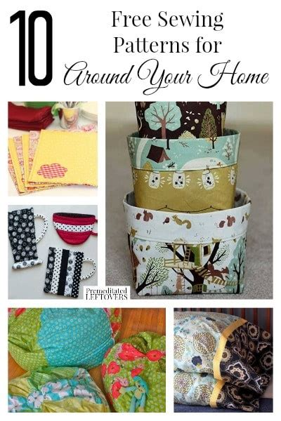 home decor sewing ideas 10 free home decor sewing patterns