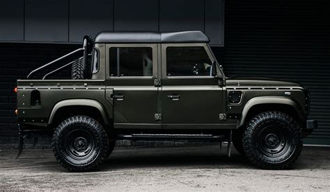 kahn land rover defender double cab land rover defender double cab truck by kahn design juncture