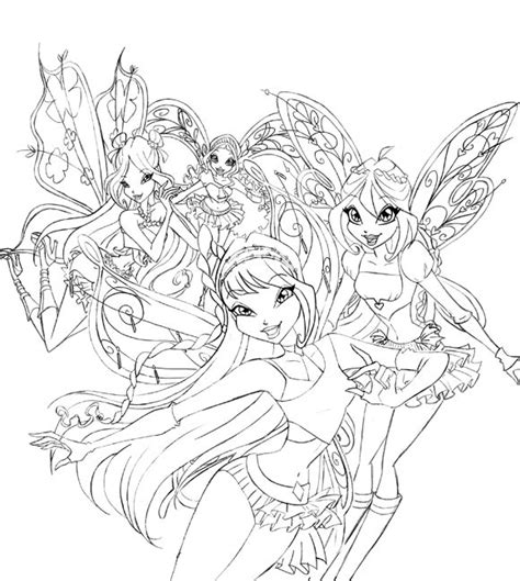 winx club believix coloring pages winx club bloom believix free coloring pages on art