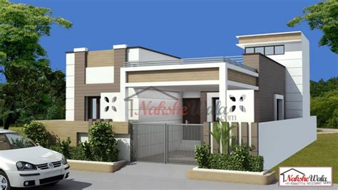Single Story House Elevation by 3d Front Elevation Design Indian Front Elevation Kerala