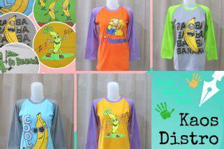 Kaos Tumbler Dewasa Banana pusat bisnis grosir baju murah 5000