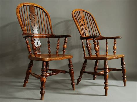 high back windsor armchair pair of broad arm burr yew wood high back windsor chairs at 1stdibs
