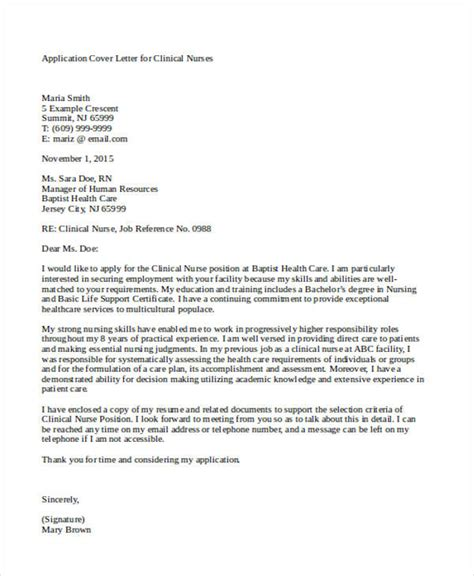 re application letter as a re application letter sle for nurses cover letter
