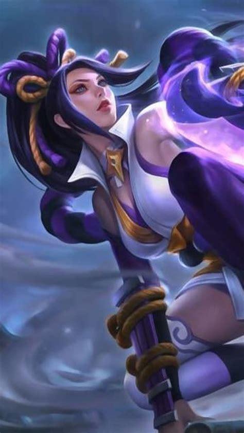 hanabi resplendent iris mobile legends  pure
