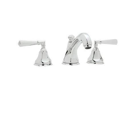 Rohl Bathroom Faucets Rohl Palladian 8 In Widespread 2 Handle Bathroom Faucet In Polished Chrome A1908lmapc 2 The