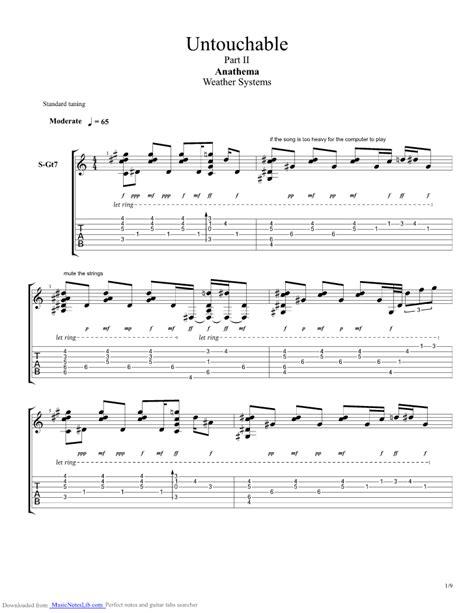 Untouchable Guitar Chords