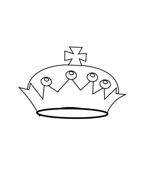 coloring page of a crown for a king simple king crown coloring coloring pages