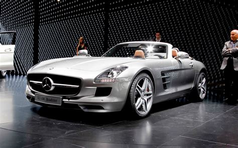 mercedes convertible 2012 mercedes benz sls amg roadster first look motor trend