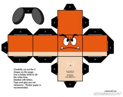 Papercraft Template - papercraft link template