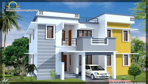 house elevation designs modern contemporary house elevation 1900 sq ft kerala home design and floor plans