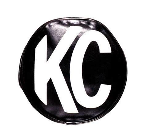 Kc Light Covers by Kc Light Cover 6 In Black Soft Vinyl White Kc