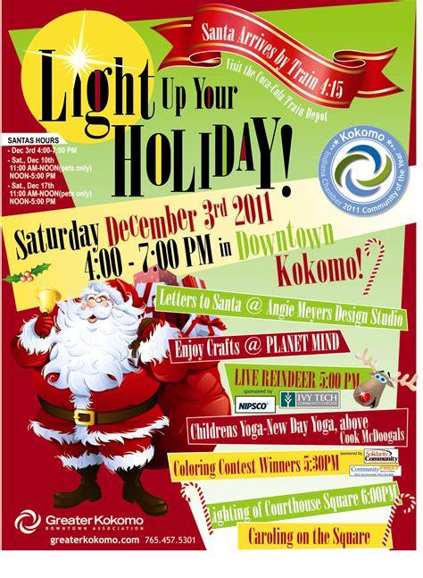 christmas contest voting flyer december 2011 visit kokomo