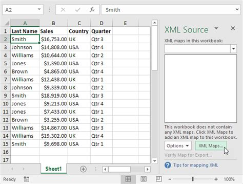 Excel 2010 Xml Mapping Tutorial | xml in excel easy excel tutorial