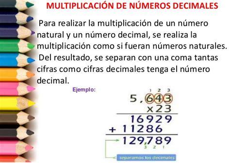 numeros salidores en la tombola multiplicaci 243 n de decimales