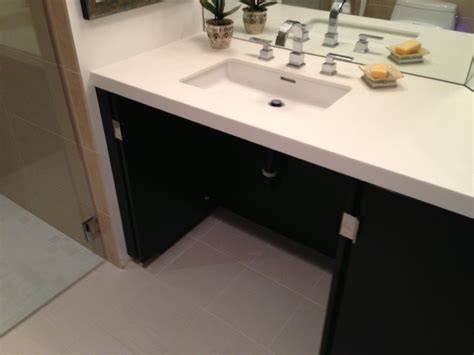 Handicap Bathroom Vanity Accessible Handicap Shower Contemporary Bathroom Los Angeles By Gamburd Inc