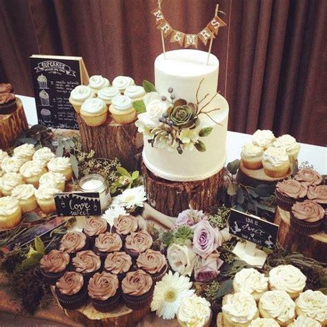 wedding cupcake layout birch tree wedding cakes woodgrain effects cake geek