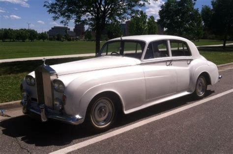 the white cloud 1956 rolls royce