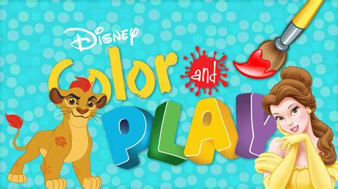 disney colors disney color and play now with the guard and disney