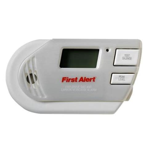 alert in explosive gas and carbon monoxide