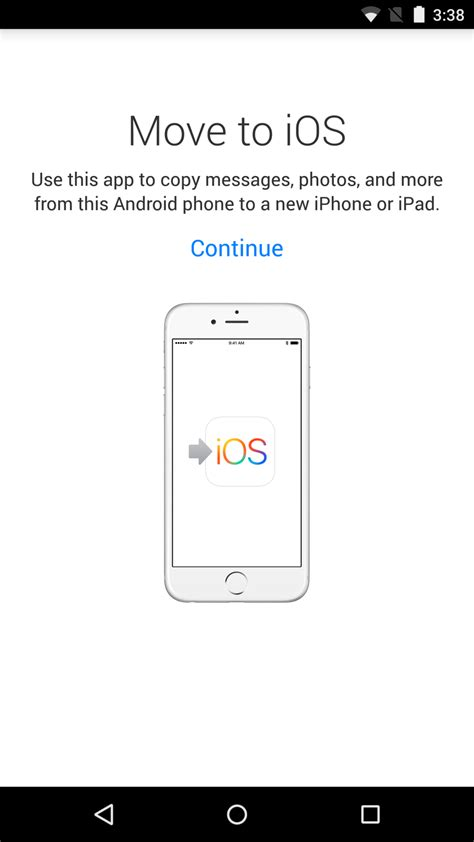 move from android to ios on jump the fence with apple s move to ios android app ars technica