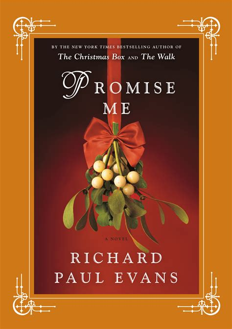 promise me book by richard paul official