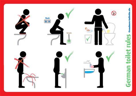 Aufkleber Toilettenordnung by Im Sitzen Pinkeln Beliebter Aufkleber Gegen Stehpinkler