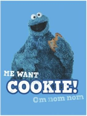 cookie monster funny birthday quotes quotesgram