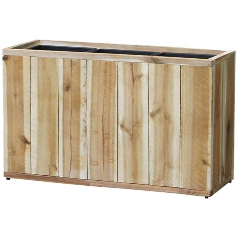 Provence Planters by Provence 26 In Wood Rectangle Planter Pride Garden Products