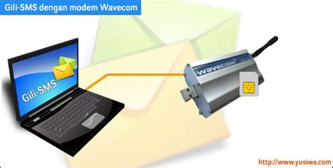 Modem Gili Sms paket software sms wavecom 1306b paling murah dan mudah