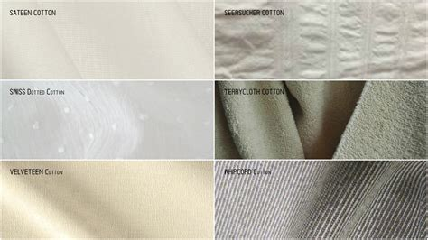 pattern types fabric explained different types of cotton used in textiles