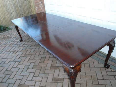 Large Antique Mahogany Extending Dining Table Antiques Atlas Large Antique Dining Table