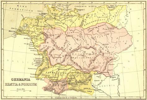 maps germania germania map