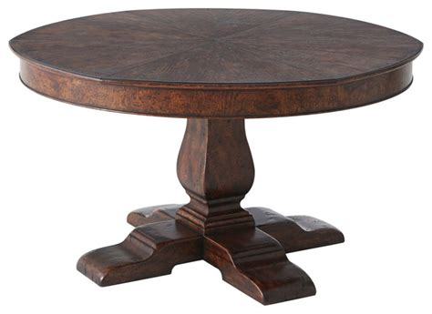 Theodore Alexander Victory Oak Victory Oak Jupe Bistro Theodore Dining Tables